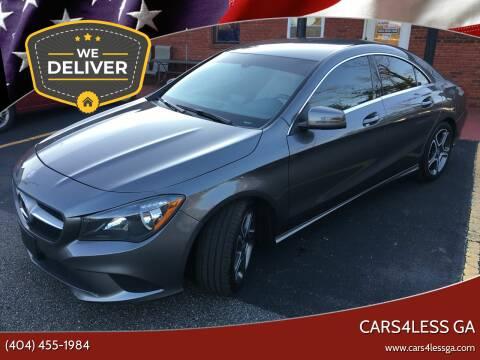 2014 Mercedes-Benz CLA for sale at Cars4Less GA in Alpharetta GA