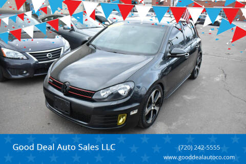2012 Volkswagen GTI for sale at Good Deal Auto Sales LLC in Denver CO