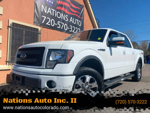 2014 Ford F-150 for sale at Nations Auto Inc. II in Denver CO