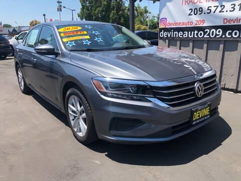 2020 Volkswagen Passat for sale at Devine Auto Sales in Modesto CA