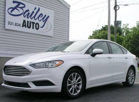 2017 Ford Fusion for sale at Bailey Auto LLC in Bailey MI