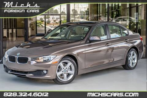 2014 BMW 3 Series for sale at Mich's Foreign Cars in Hickory NC