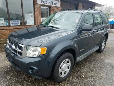 2008 Ford Escape for sale at BILLYS AUTO CENTER in Vincentown NJ