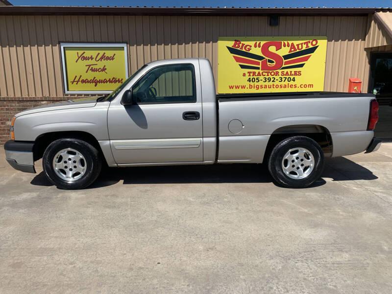 2004 Chevrolet Silverado 1500 for sale at BIG 'S' AUTO & TRACTOR SALES in Blanchard OK