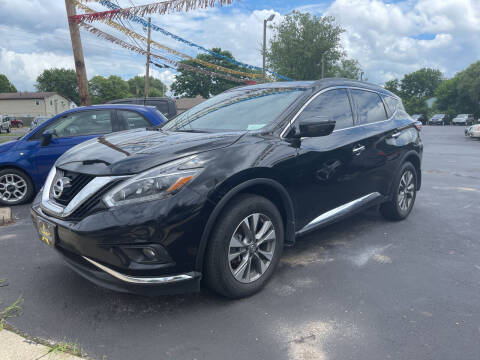 2018 Nissan Murano for sale at Auto Exchange in The Plains OH
