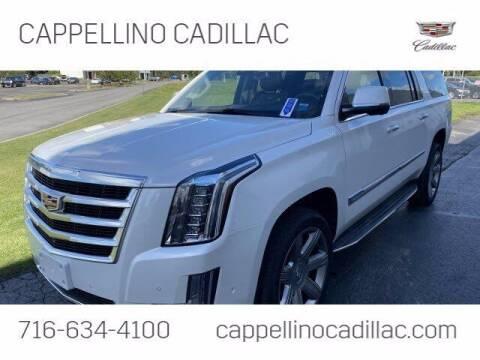 2018 Cadillac Escalade ESV for sale at Cappellino Cadillac in Williamsville NY
