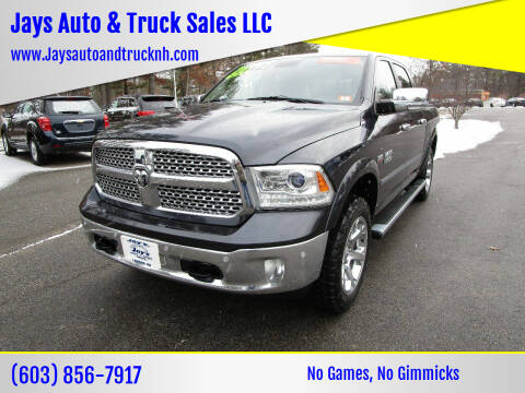 2015 RAM Ram Pickup 1500 for sale at Jays Auto & Truck Sales LLC in Loudon NH