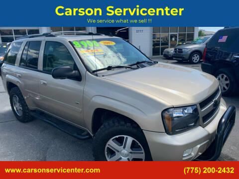 2007 Chevrolet TrailBlazer for sale at Carson Servicenter in Carson City NV