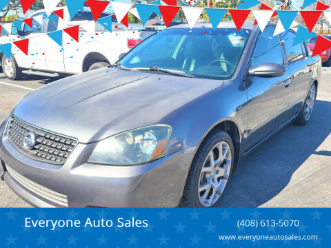 2006 Nissan Altima for sale at Everyone Auto Sales in Santa Clara CA