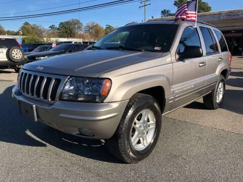 1999 Jeep Grand Cherokee for sale at Mega Autosports in Chesapeake VA