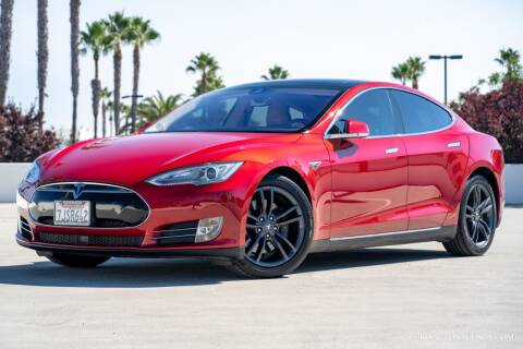 2014 Tesla Model S for sale at Euro Auto Sales in Santa Clara CA