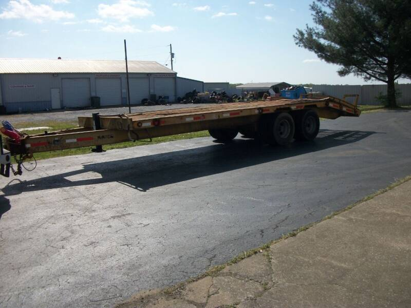 2009 K & K 10 ton Tagalong Equip Trailer for sale at Classics Truck and Equipment Sales in Cadiz KY