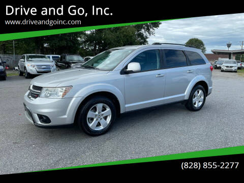 2012 Dodge Journey for sale at Drive and Go, Inc. in Hickory NC