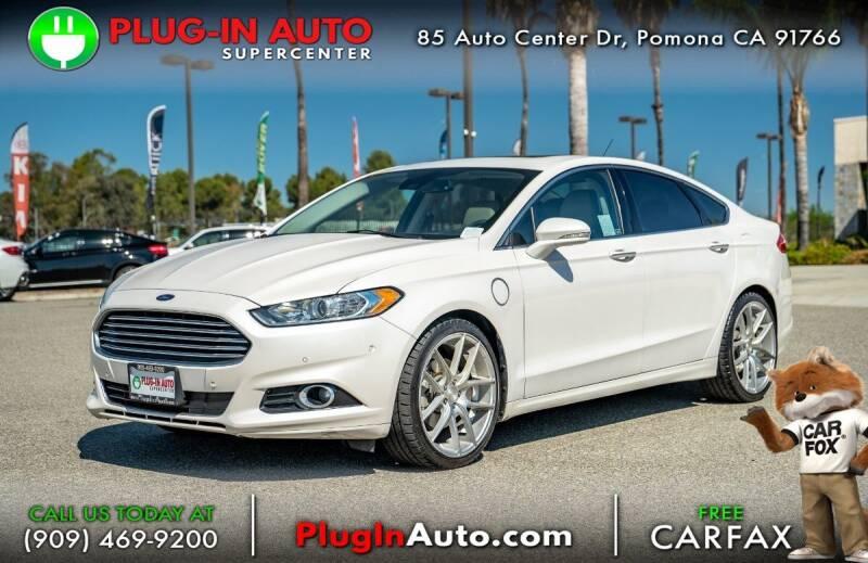 2015 Ford Fusion Energi for sale in Pomona, CA