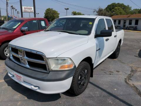2010 Dodge Ram Pickup 1500 for sale at Affordable Autos in Wichita KS