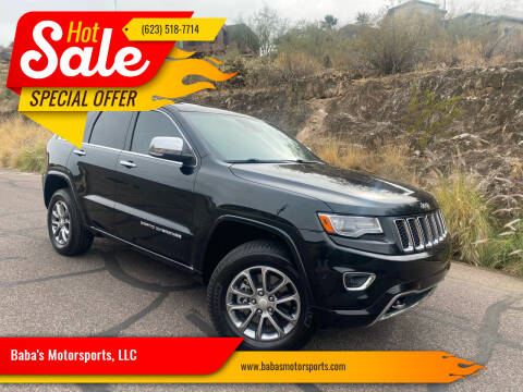 2014 Jeep Grand Cherokee for sale at Baba's Motorsports, LLC in Phoenix AZ