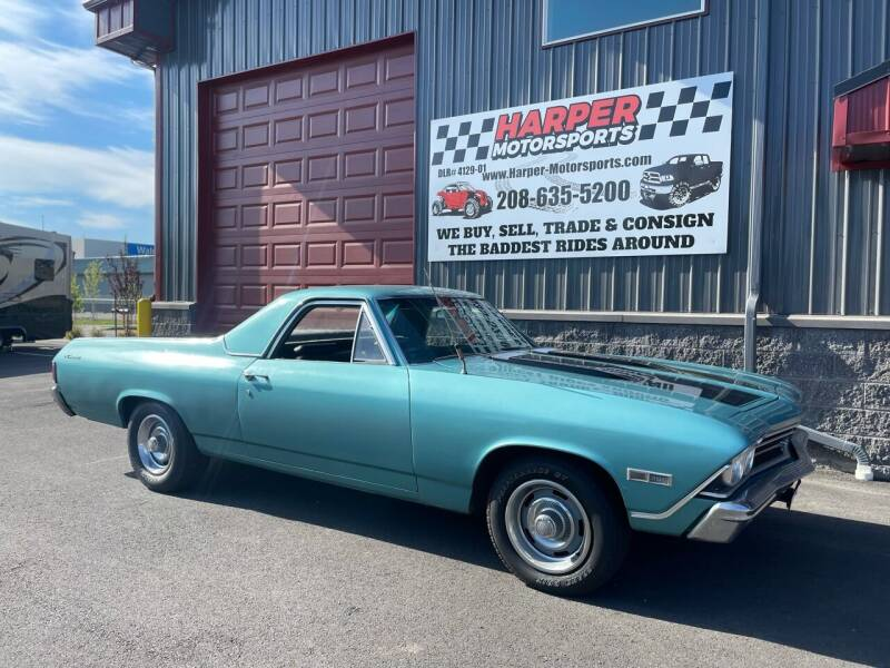 1968 Chevrolet El Camino for sale at Harper Motorsports-Vehicles in Post Falls ID