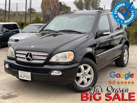 2003 Mercedes-Benz M-Class for sale at Gold Coast Motors in Lemon Grove CA