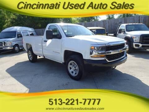 2017 Chevrolet Silverado 1500 for sale at Cincinnati Used Auto Sales in Cincinnati OH