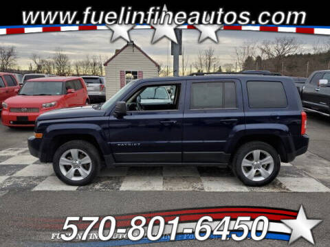 2012 Jeep Patriot for sale at FUELIN FINE AUTO SALES INC in Saylorsburg PA