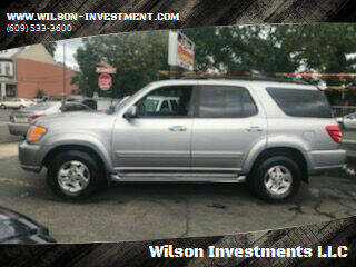 2002 Toyota Sequoia for sale at Wilson Investments LLC in Ewing NJ
