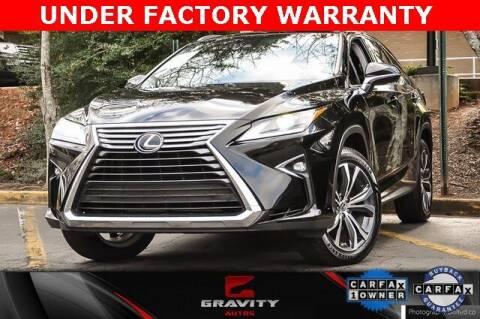 2018 Lexus RX 350L for sale at Gravity Autos Atlanta in Atlanta GA