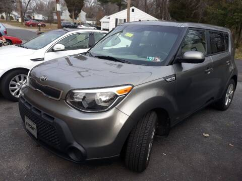2015 Kia Soul for sale at GALANTE AUTO SALES LLC in Aston PA