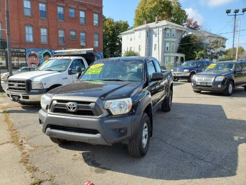 2014 Toyota Tacoma for sale at Beacon Auto Sales Inc in Worcester MA
