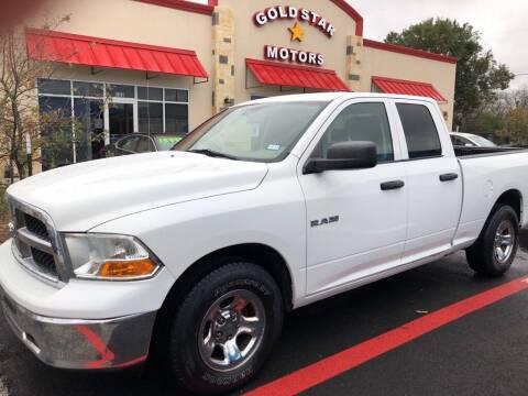 2010 Dodge Ram Pickup 1500 for sale at Gold Star Motors Inc. in San Antonio TX