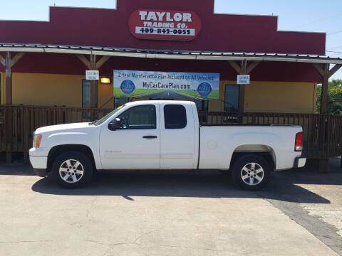 2010 GMC Sierra 1500 for sale at Taylor Trading Co in Beaumont TX