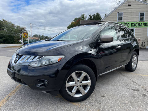2010 Nissan Murano for sale at J's Auto Exchange in Derry NH