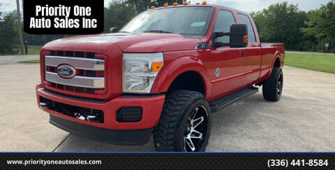 2012 Ford F-350 Super Duty for sale at Priority One Auto Sales in Stokesdale NC