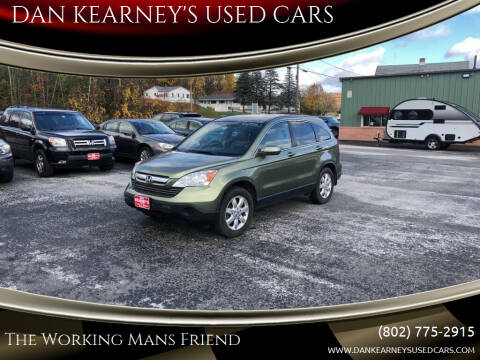 2008 Honda CR-V for sale at DAN KEARNEY'S USED CARS in Center Rutland VT