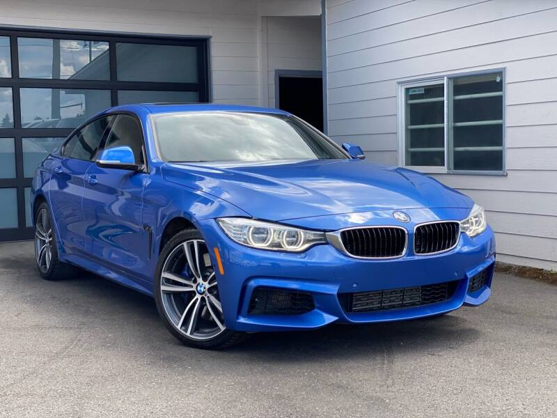 2016 BMW 4 Series for sale at Lux Motors in Tacoma WA