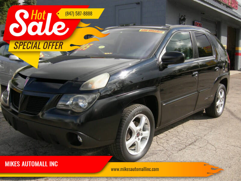 2003 Pontiac Aztek for sale at MIKES AUTOMALL INC in Ingleside IL