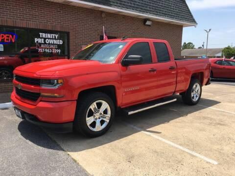2018 Chevrolet Silverado 1500 for sale at Bankruptcy Car Financing in Norfolk VA