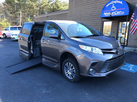 2020 Toyota Sienna for sale at New England Motor Car Company in Hudson NH