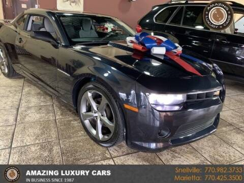 2014 Chevrolet Camaro for sale at Amazing Luxury Cars in Snellville GA