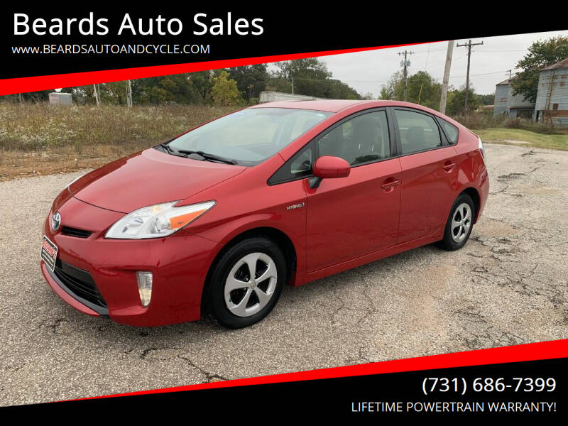 2013 Toyota Prius for sale at Beards Auto Sales in Milan TN