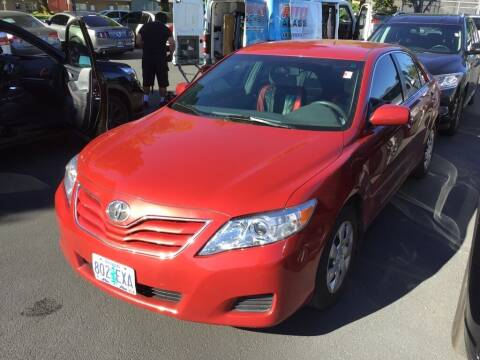 2011 Toyota Camry for sale at Royal Moore Custom Finance in Hillsboro OR