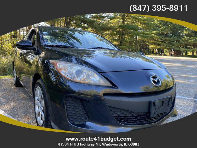 2012 Mazda MAZDA3 for sale at Route 41 Budget Auto in Wadsworth IL