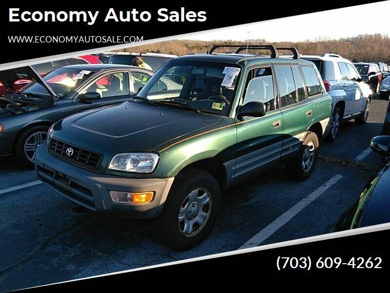 1999 Toyota RAV4 for sale at Economy Auto Sales in Dumfries VA