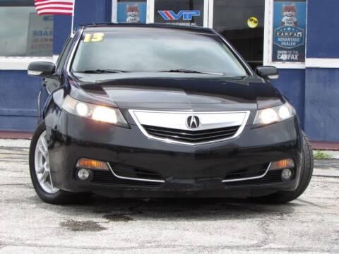 2013 Acura TL for sale at VIP AUTO ENTERPRISE INC. in Orlando FL
