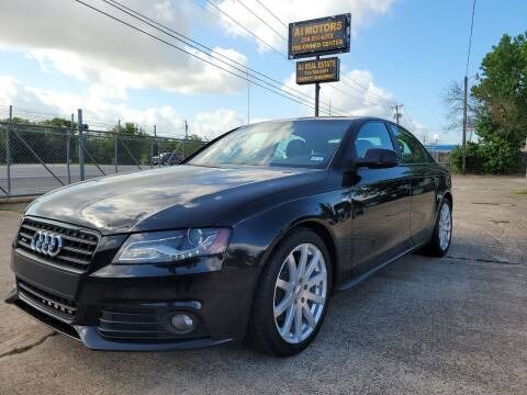 2012 Audi A4 for sale at AI MOTORS LLC in Killeen TX