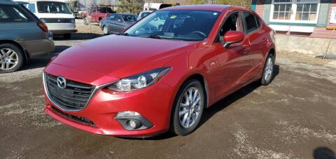 2015 Mazda MAZDA3 for sale at Village Car Company in Hinesburg VT