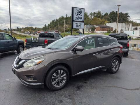 2015 Nissan Murano for sale at Route 22 Autos in Zanesville OH