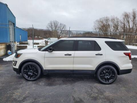 2016 Ford Explorer for sale at Studio Hotrods in Richmond IL
