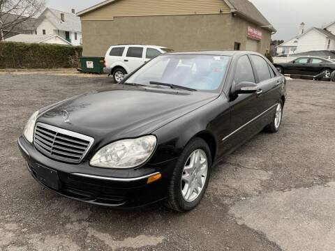 2003 Mercedes-Benz S-Class for sale at VINNY AUTO SALE in Duryea PA
