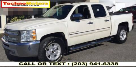 2012 Chevrolet Silverado 1500 for sale at Techno Motors in Danbury CT