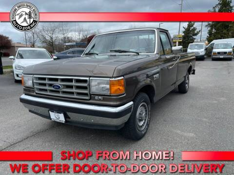 1988 Ford F-150 for sale at Auto 206, Inc. in Kent WA